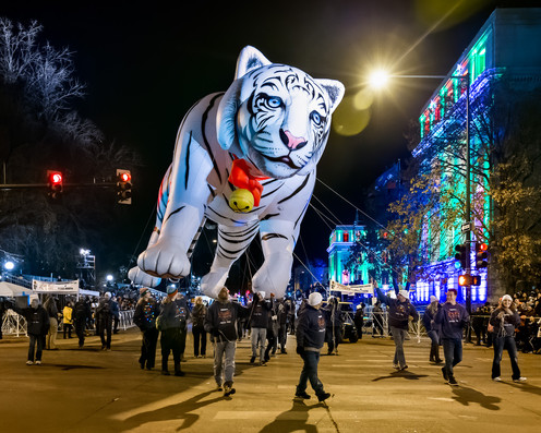 2019 9News Parade of Lights, Denver, Colorado