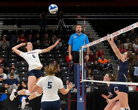 Darral Freund Photography | Professional Volleyball Photographer | MSU Denver Vs. Colorado School of Mines