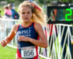 Photos of MSU Denver Cross Country Team Competing at the Roadrunner Invitational,  Washington Park, Denver, Colorado  Saturday, Oct. 5, 2019