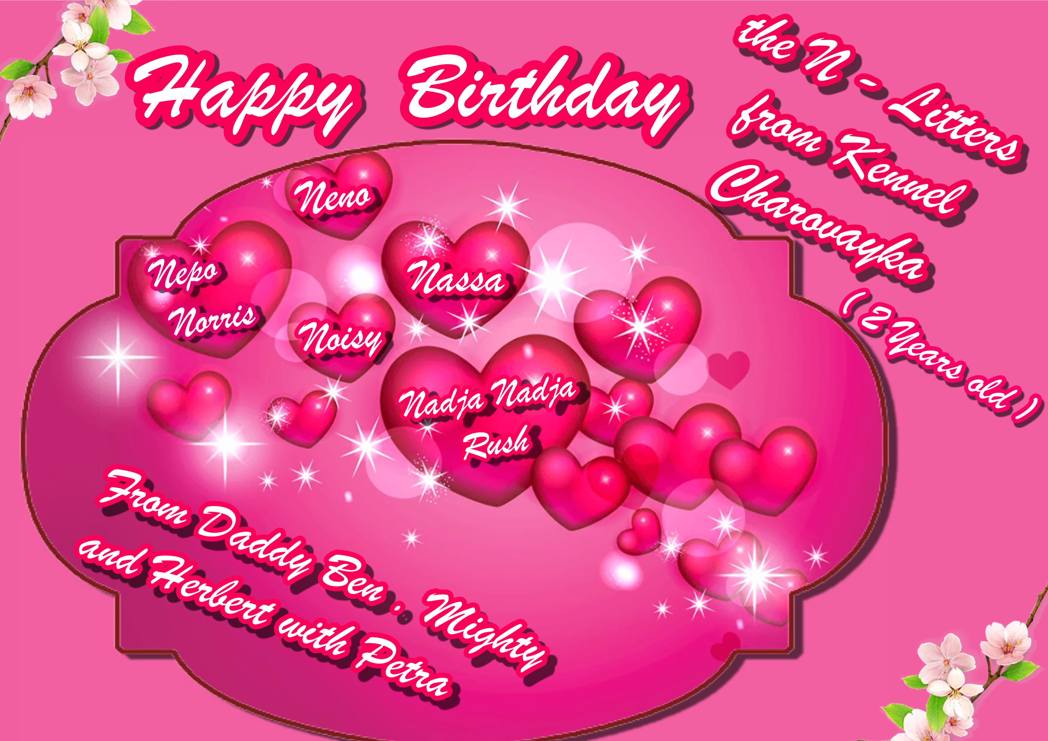 Herzlichen Glückwunsch Zum 2 Geburtstag