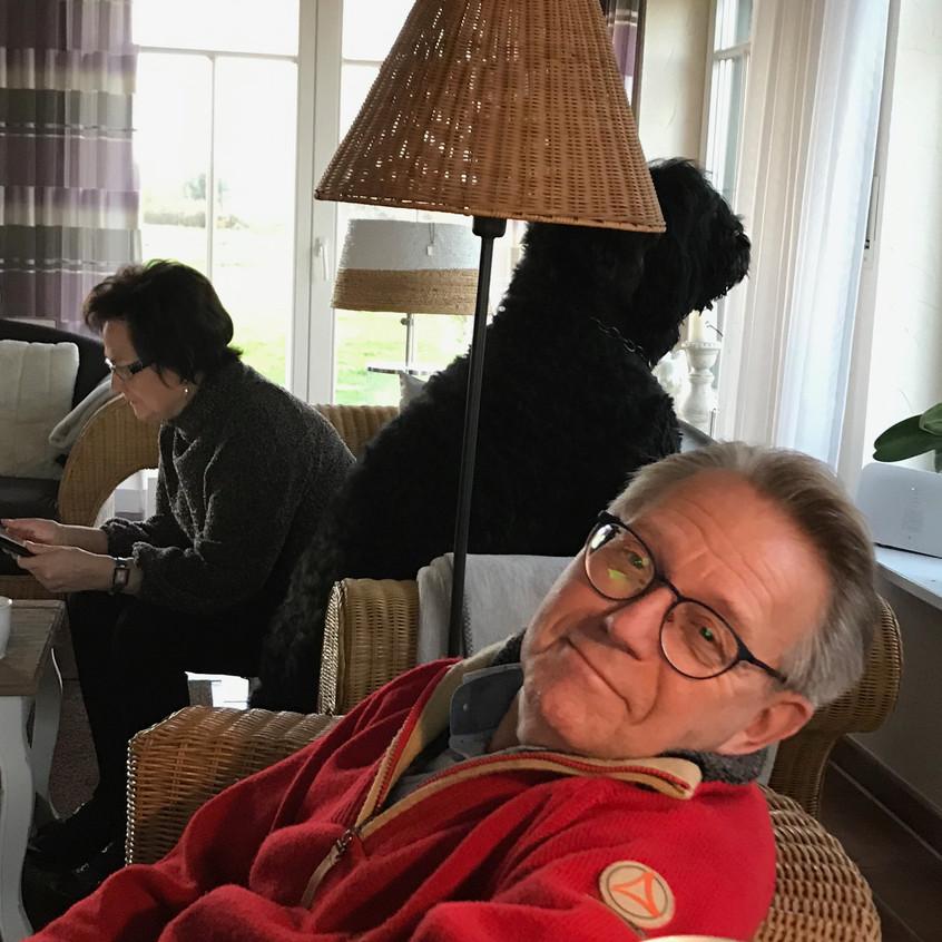 Silvester mit Norbert u. Renate