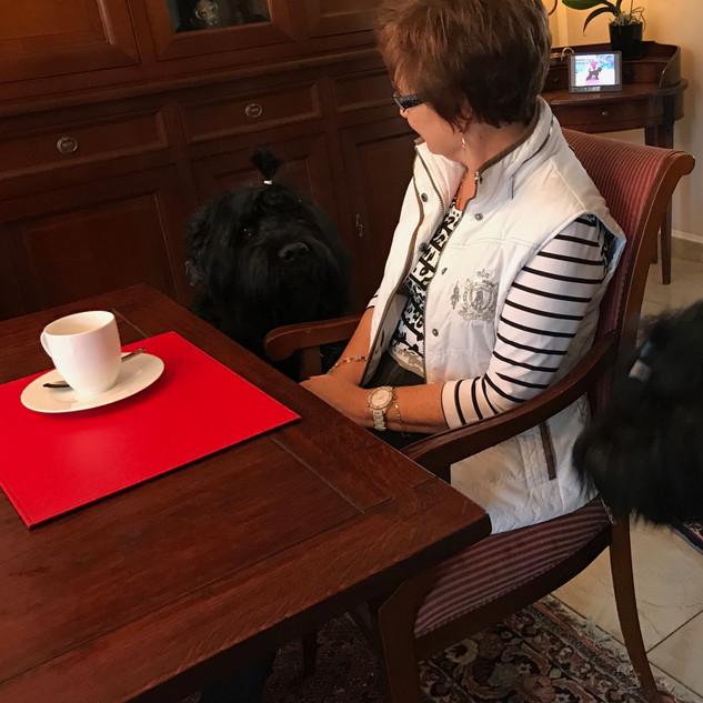 Kaffeeklatsch mit Renate !