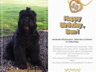 Happy Birthday Ben !!!