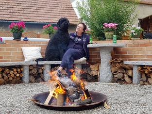 Luca of Berryland genießt die lauen Sommerabende !!