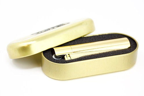 Clipper Metal Cigarette Lighter with Designer Box,Gold