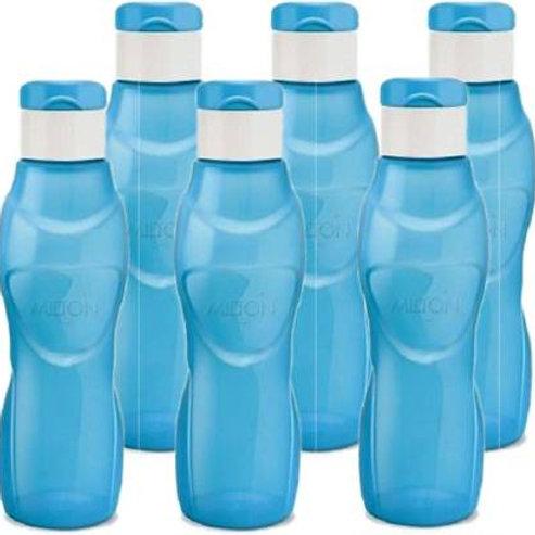 Milton Ace Flip 1000 ml Bottle - Set of 6 - Blue