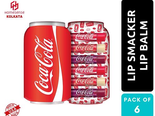 Lip Smacker Coca Cola Can Lip Balm Tin Gift Box Set of 6