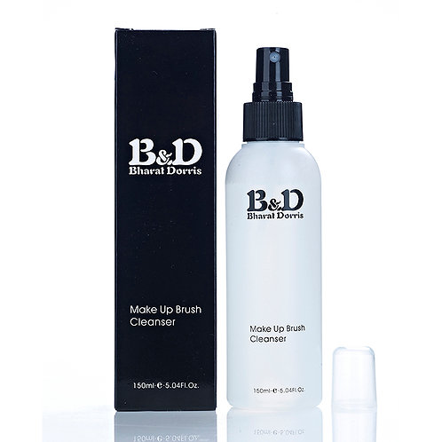 Bharat & Dorris Make-Up Brush Cleanser Spray (150 ml)