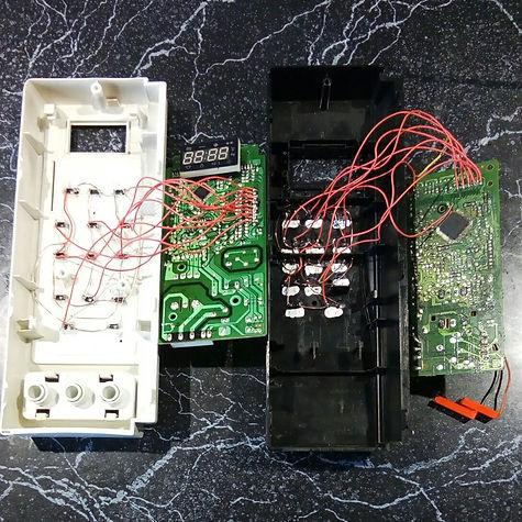 Замена сенсорной панели микроволновки