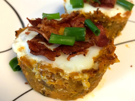 Sweet Potato Nests