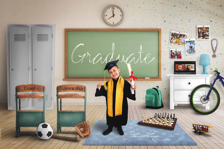 graduado escuela