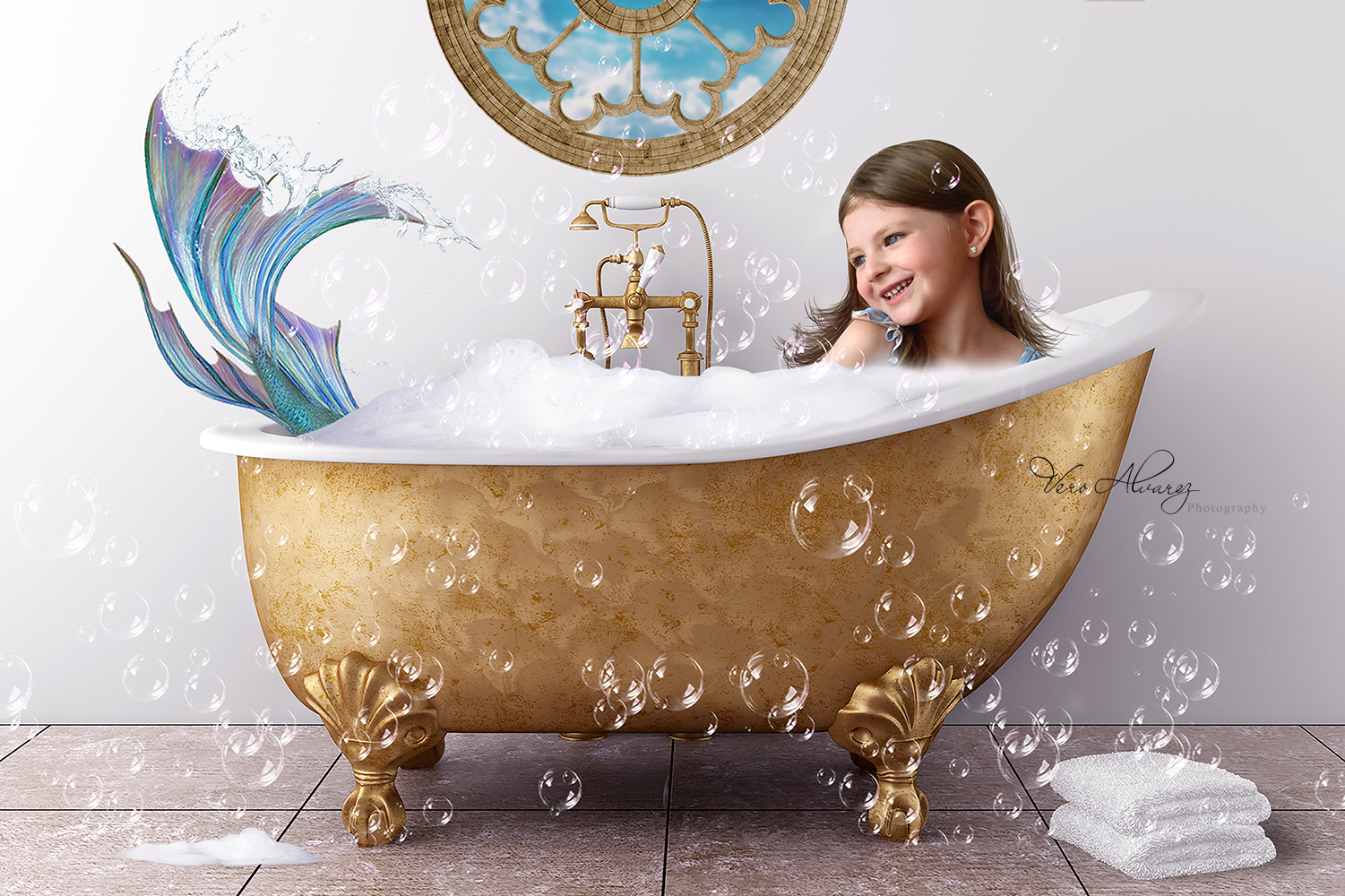 Bathtub Mermaid