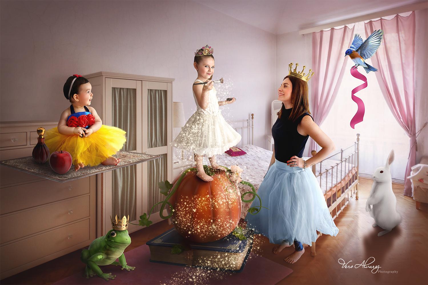 Cuarentena en princesas