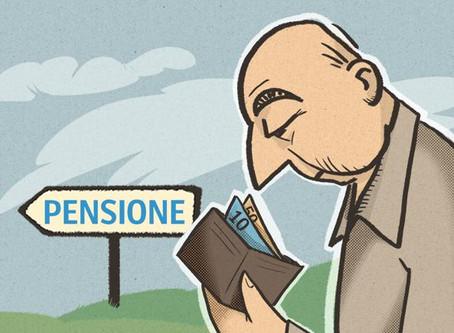 La metà di chi incassa la pensione non ha mai versato i contributi