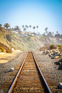 Train Tracks in California
