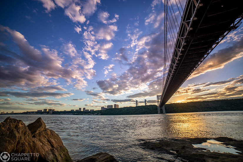 Under the George Washington Bridge
