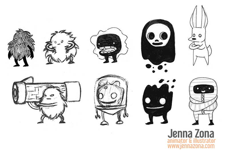 Luminky: Character Concepts