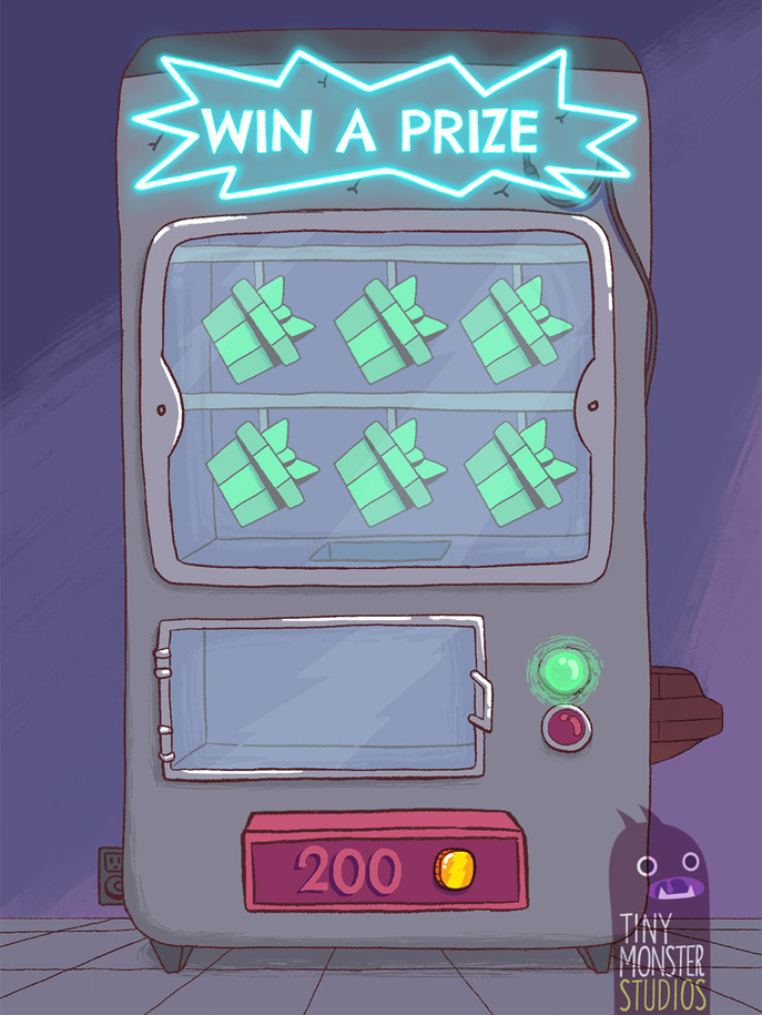 Party Dash: Prize Machine Background