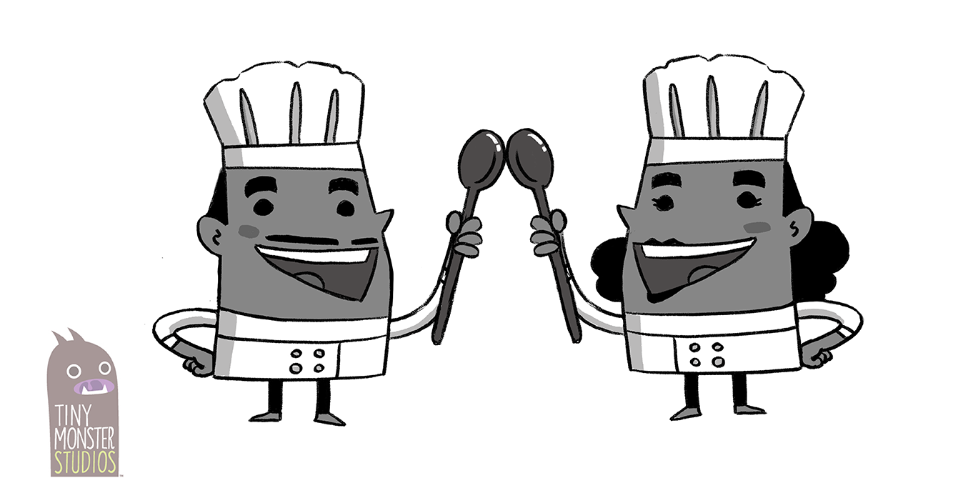 Souptastic: Character Concept Design