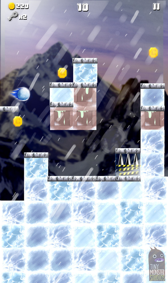 Super Slime Blitz: Snow Background