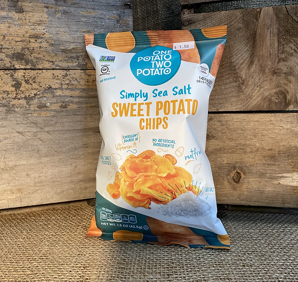 One Potato Two Potato Simply Sea Salt Sweet Potato Chip
