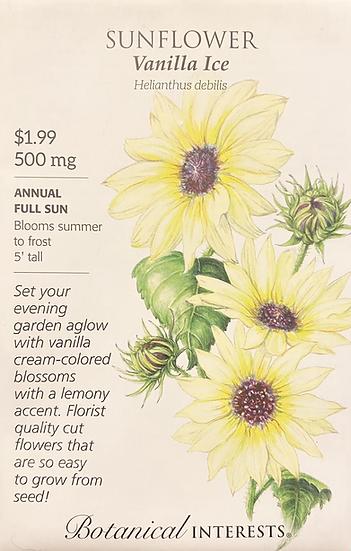 Botanical Interests - Sunflower Vanilla Ice