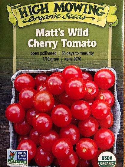High Mowing Organic Seeds - Matt's Wild Cherry Tomato