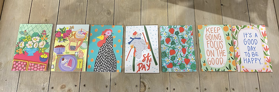 Greeting Cards - Allison Howe