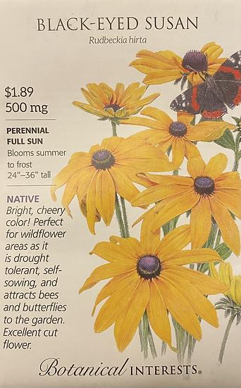 Botanical Interests - Black - Eyed Susan