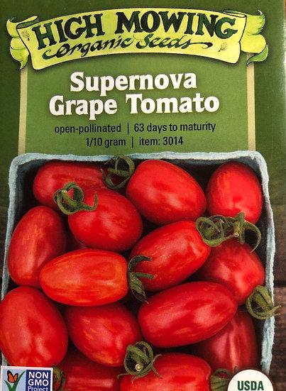 High Mowing Organic Seeds - Supernova Grape Tomato