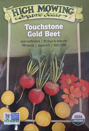 High Mowing Organic Seeds - Touchstone Gold Beet