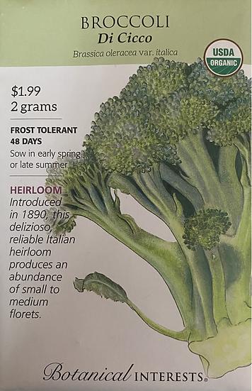 Botanical Interests - Broccoli Di Cicco