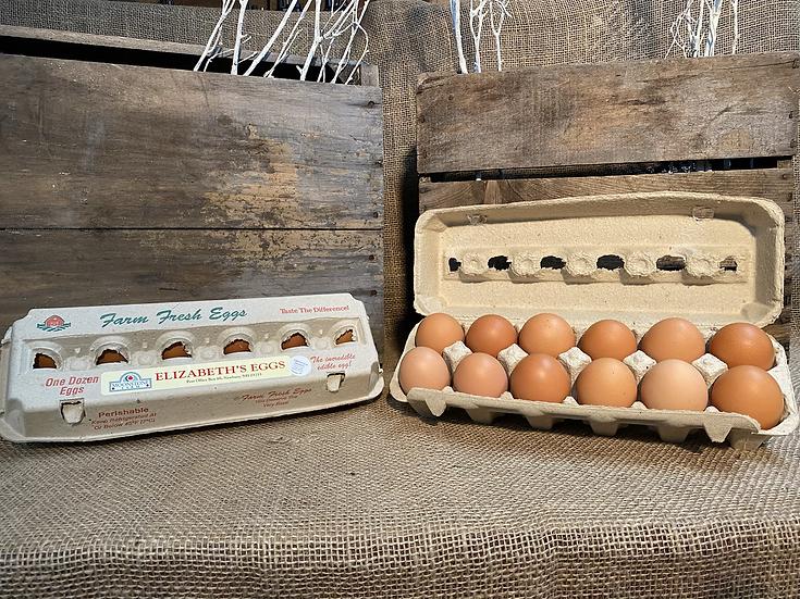 Elizabeth Organic Eggs