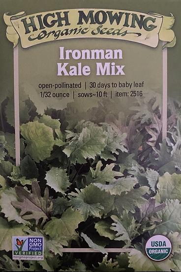 High Mowing Organic Seeds - Ironman Kale Mix