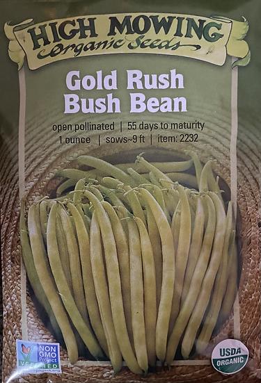High Mowing Organic Seeds - Gold Rush Bush Bean
