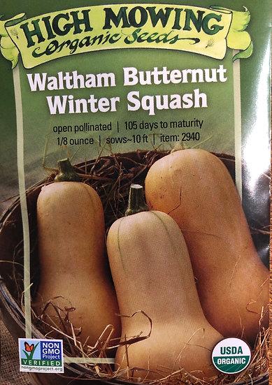 High Mowing Organic Seeds - Waltham Butternut Winter Squash