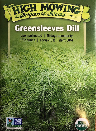 High Mowing Organic Seeds - Greensleeves Dill