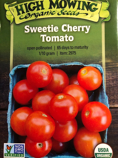 High Mowing Organic Seeds - Sweetie Cherry Tomato