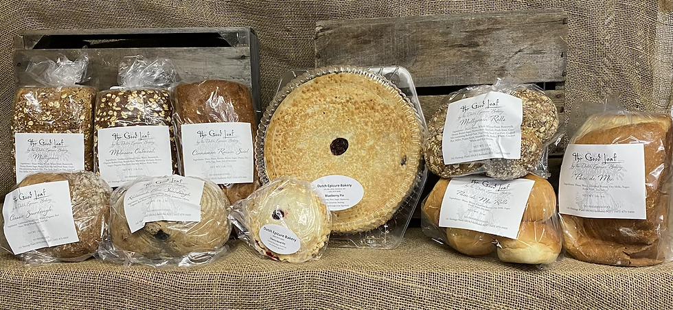 Good Loaf Bakery Breads and Pies