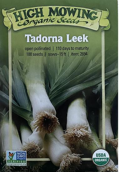 High Mowing Organic Seeds - Tadorna Leek