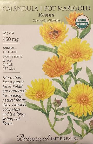 Botanical Interests - Calendula Pot Marigold Resina