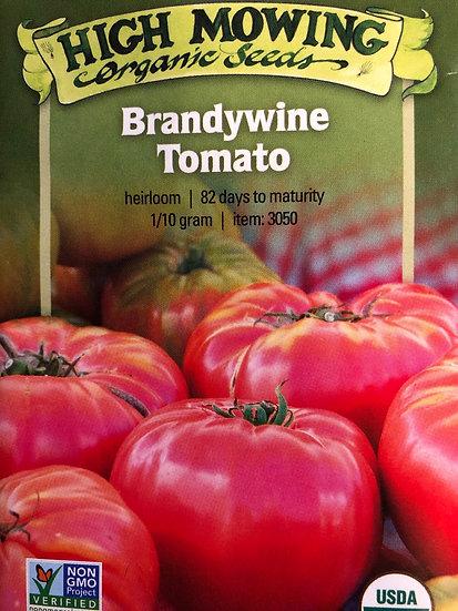 High Mowing Organic Seeds - Brandywine Tomato