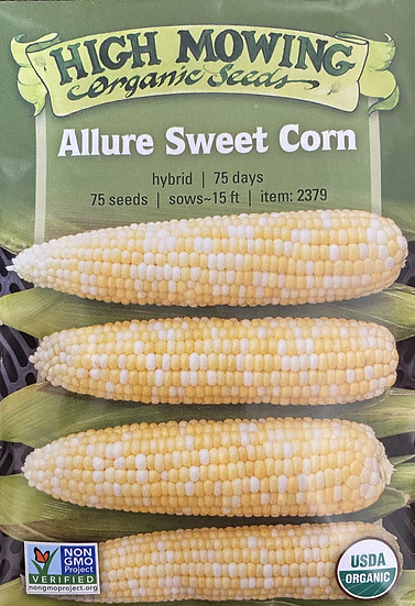 High Mowing Organic Seeds - Allure Sweet Corn