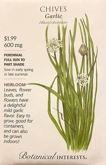 Botanical Interests - Chives Garlic