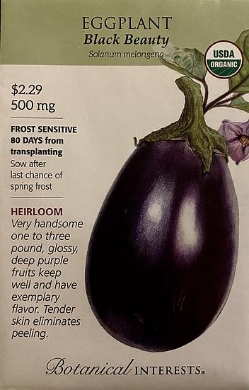 Botanical Interests - Eggplant Black Beauty