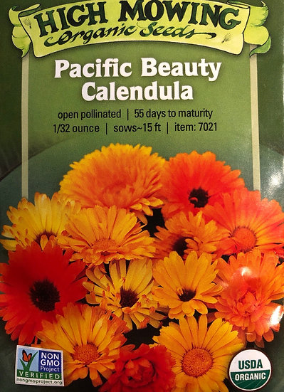 High Mowing Organic Seeds - Pacific Beauty Calendula