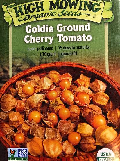 High Mowing Organic Seeds - Goldie Ground Cherry Tomato
