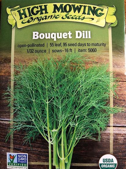 High Mowing Organic Seeds - Bouquet Dill