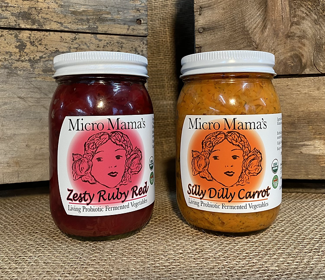 Micro Mama's Fermented Vegetables