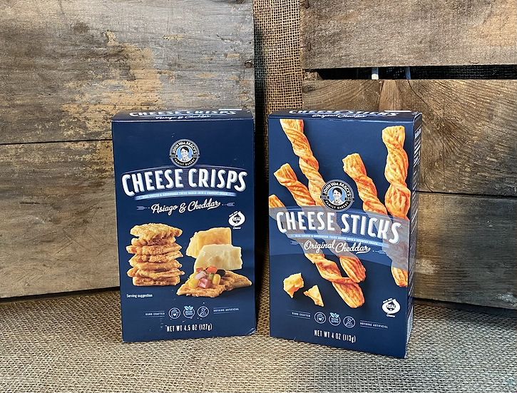 John WM. Macy's Cheese Cracker